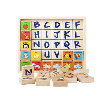 MULTI-FUNCTION BABY TOY ENGLISH WORD COMBINATION GIFT BOX